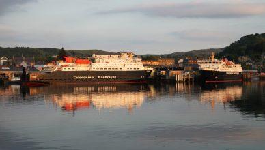 Clansman Isle of Mull Caledonian MacBrayne
